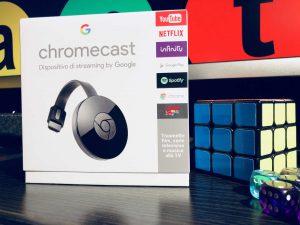foto scatola prodotto Chromecast - il Mio Web